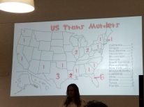 Deaths of Trans Persons in the U.S.: 25