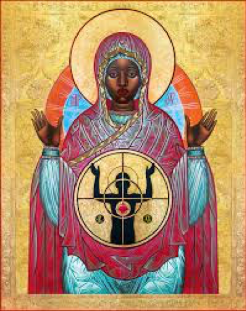 Our Lady of Ferguson, Mark Dukes, Black, African American, Police Violence, Police Shootings, Black Madonna