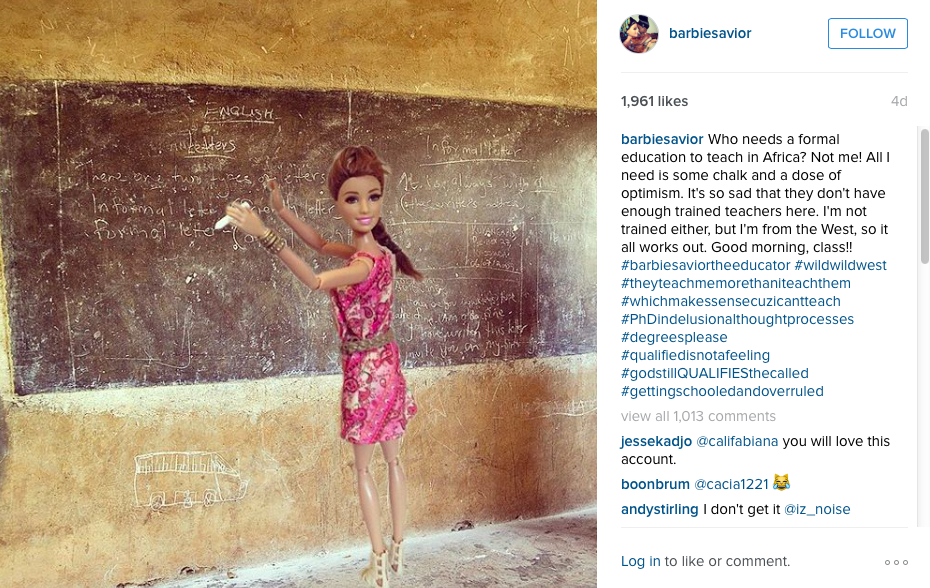 White Savior Barbie 2